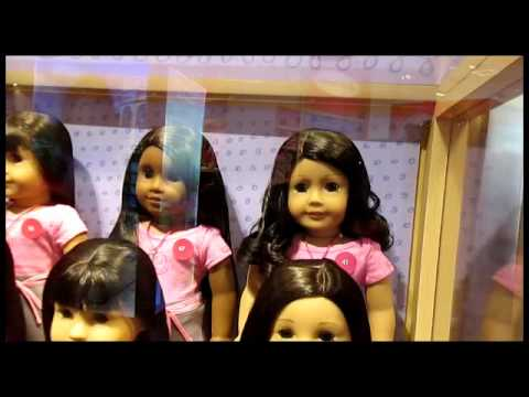 American Girl Doll Store. Houston. TX