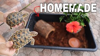 5 step: EASY to MAKE Tortoise Enclosure!!