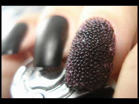 Unhas de Caviar - Aprenda a fazer - Brasil - The Caviar Manicure - Nail Art