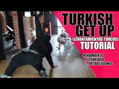 TURKISH GET UP TUTORIAL - MEJORA TU RENDIMIENTO, ESTABILIDAD Y EVITA LESIONES (Levantamiento Turco)