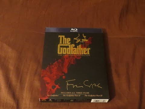 The Godfather: The Coppola Restoration Blu-Ray Trilogy Review/Unboxing