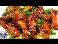 Sriracha Sticky Wings - BEST & EASIEST Chicken Wing Recipe EVER!! - The Wolfe Pit