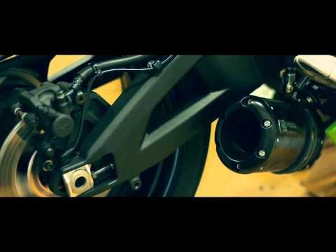 2012 Kawasaki ZX10-R Cat Eliminator Slip-on Exhaust Systems by Two Brothers Racing