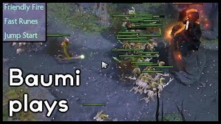 Dota 2   FRIENDLY FIRE IS HILARIOUS!!   Baumi plays Undying