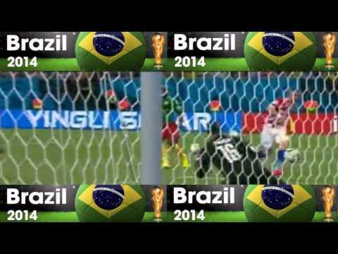 Kamerun VS Kroasia - 0:4 - Goals - Piala Dunia 2014