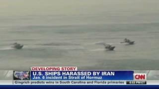 On camera: Iran harasses U.S. ships
