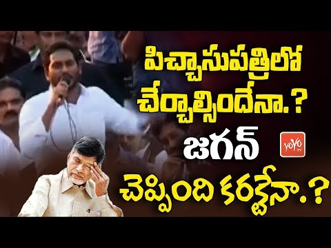 Jagan Sensational Comments on Chandrababu Naidu | YSRCP | AP Politics | Latest News Update | YOYO TV