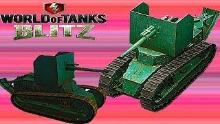 WoT Blitz обзор ПТ-САУ FT AC Для новичков В погоню за AMX  французская ветка World of Tanks Blitz#33