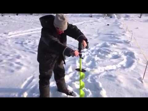 самодельный электробур для рыбалки