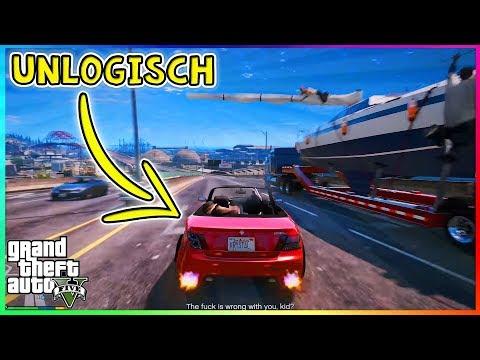 Die 5 UNLOGISCHSTEN DINGE aus GTA 5! | 5 Dinge die in GTA V keinen Sinn machen!