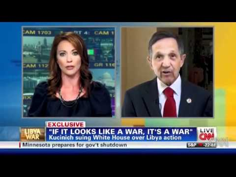 US Congress, e.g. Dennis Kucinich, Sues Barack Obama And Robert Gates Over Libyan War