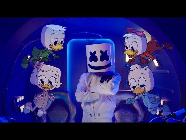 Marshmello x DuckTales - FLY Music Video