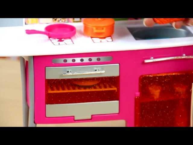 Barbie Doll and Kitchen / Luksusowa Kuchnia Barbie - Mattel - www.MegaDyskont.pl
