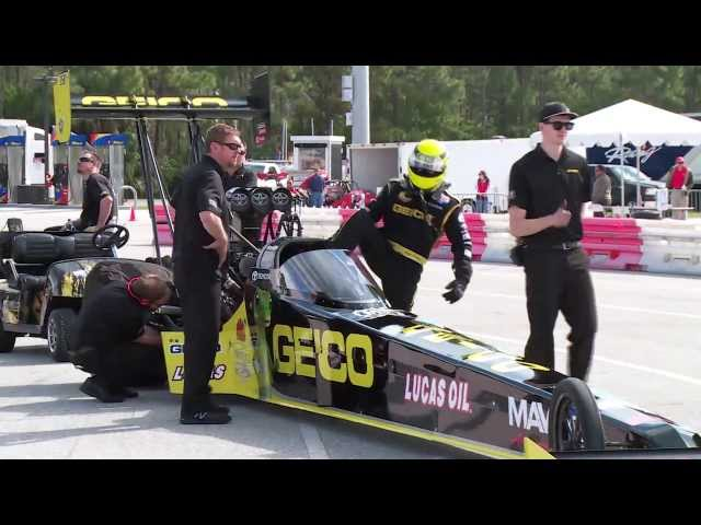 NHRA's Morgan Lucas Racing & Richie Crampton ready for Topeka, Kansas