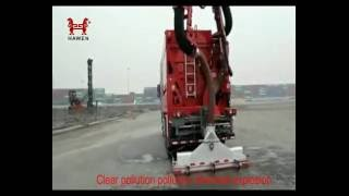 Street Sweeper Suction sweeper truck-Vacuum Dump Truck