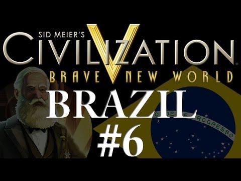 Civilization 5: Brave New World - Brazil - Part 6