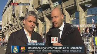 Analisis del REAL MADRID vs BARCELONA - Diciembre 23, 2017 - Futbol Center