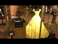 Belle's Dress And Rose Prop From Live Action Beauty And The Beast On Display In Hollywood Studios