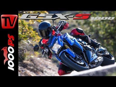 2015 Suzuki GSX-S1000 Test | Action, Details, Fazit