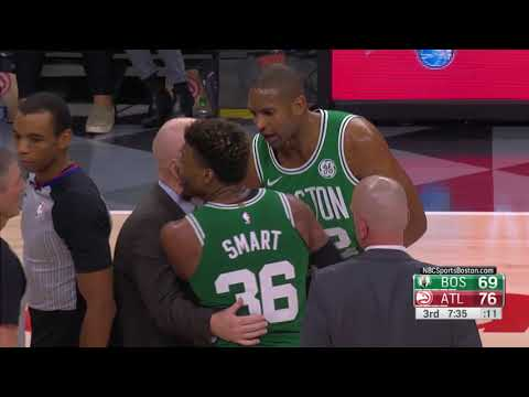 Marcus Smart Gets Ejected For Charging At DeAndre Bembry In Atlanta
