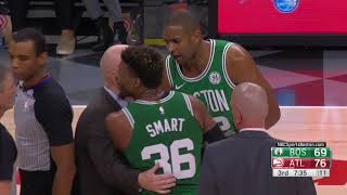 Marcus Smart Gets Ejected For Charging At DeAndre' Bembry In Atlanta