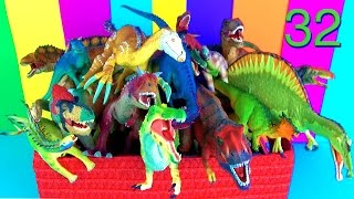 22 Amazing Dinosaurs Toy Collection Kids Toys T rex Dinosaurios FIXED!