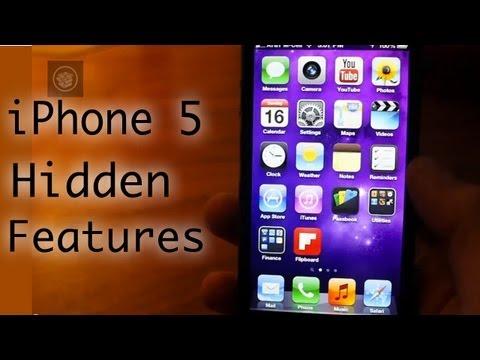 iPhone 5 Hidden Features! (HD)