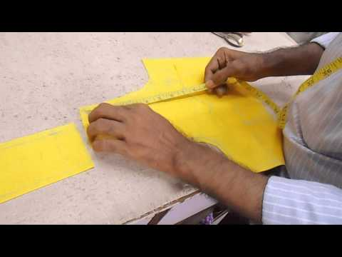 How To Cut Lining Blouse-Simple Lining Blouse Cutting-Choli Cut Blouse Cutting Method