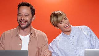 "Charlize Theron And Nick Kroll From ""The Addams Family"" Find Out Which Characters They Really Are"