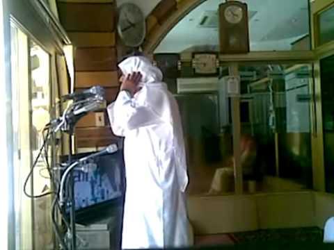 Adhan given by Shaykh Shaykh Naif Fida in Masjid Al-Haram
