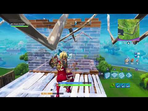 Fortnite the Most Intense Game Play