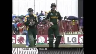 India vs Pakistan 2003 World Cup Match Full Highlights