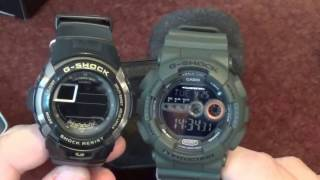 Casio G-SHOCK GD-100MS-3ER Review and Unboxing