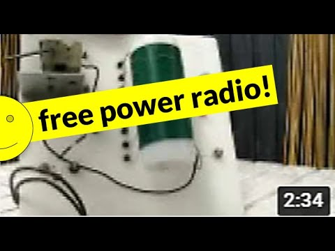 A demonstration of a crystal radio - Part 1