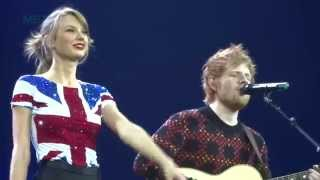 Download Lagu Lego House - Taylor Swift and Ed Sheeran - Red Tour - Multi-Cam - February 1, 2014 Gratis STAFABAND