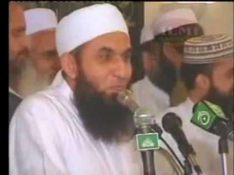 Maulana Tariq Jameel in front of Sheikh Abdul Rahman Al Sudais (Urdu)