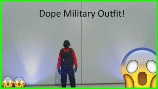 GTA 5 - How To Create a Dope Military Modded Outfit After Patch 1.34