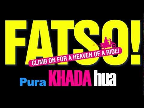 FATSO LYRICS on SCREEN - HINDI SONG