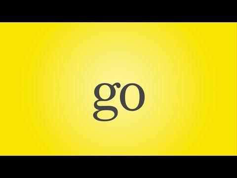 Go Song - Sight Word Go