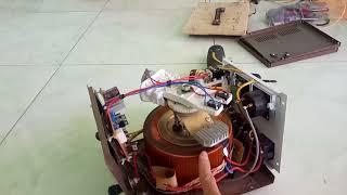 Hướng dẫn làm máy hàn hồ quang (hàn we) fần 2
