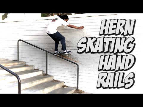 HERN SKATING HANDRAILS AND MUCH MORE !!! - NKA VIDS -