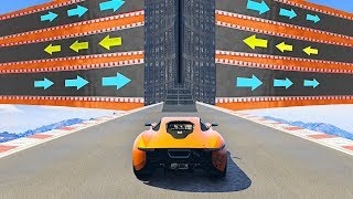 WORLD'S MOST CONFUSING STUNT RACE! - GTA 5 Funny Moments