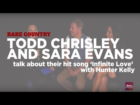 Todd Chrisley and Sara Evans talk about 'Infinite Love' | Rare Country