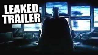 Batman v Superman Dawn of Justice LEAKED Teaser Trailer!?!
