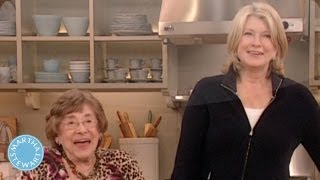 Q & A with Martha and her Mother - Mothers Day - Martha Stewart