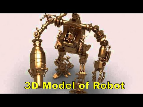 3D Model of Robot 03