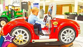 Super Indoor Rides For Kids Compilation Best Nursery Rhymes For Children Playground in Shopping Mall
