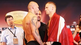 Mairis Briedis vs Krzysztof Glowacki WEIGH-IN | WBSS WEIGH-IN