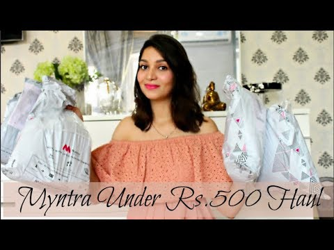 Myntra Try-On Haul | All Under Rs.500 | TanzWorldd
