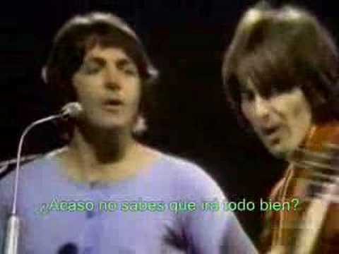The Beatles - Revolution - Subtitulado en Espaol Video